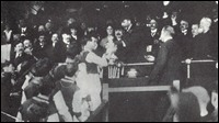 Tommy Boyle accepts the FA Cup from King George V