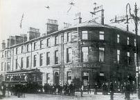 The Bull Hotel in Burnley, where committe members of Burnley Rovers deceided to change codes to association football in 1882