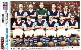 Burnley Team in 1957